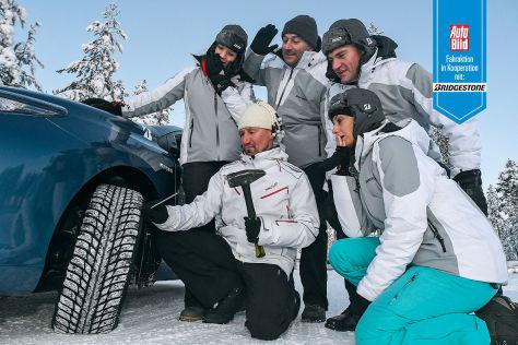 Partneraktion: Bridgestone Winterreifentest