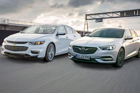 Opel Insignia vs. Chevrolet Malibu: Vergleich