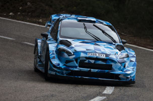 Ogier 2017 im Ford Fiesta WRC