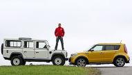 Land Rover Defender/Kia Soul: Gebrauchtwagen-Test