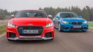 Audi TT RS/BMW M2: Test