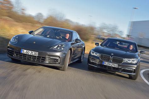 BMW 7er Porsche Panamera