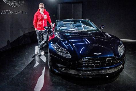 Aston Martin DB11 Volante (2018): Erlkönig