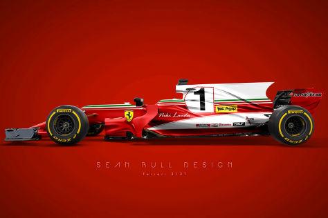 Formel 1 Alte Teams Auf Neuen Autos Retro Designs Im