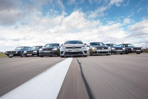 VW Golf 1 bis Golf 7: Tuning von Rothe Motorsport