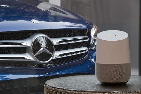 Mercedes auf der CES 2017