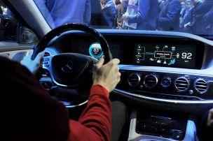 Mercedes auf der CES