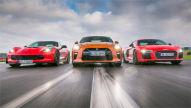 Audi R8 V10 Plus/Corvette Z06/Nissan GT-R