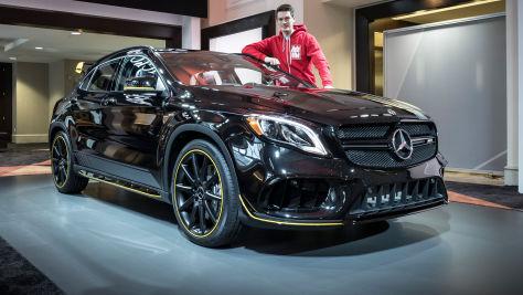 Mercedes-AMG GLA 45 Facelift (2017): Sitzprobe