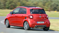 Smart forfour Brabus: Test