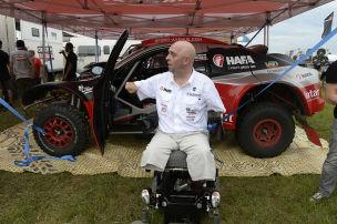 Rallye Dakar: Philippe Croizon