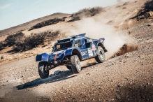 Ein Deutscher bei der echten Dakar