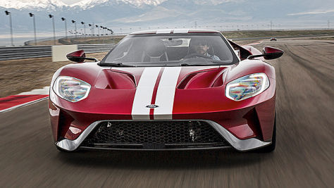 Ford GT (2017): Test