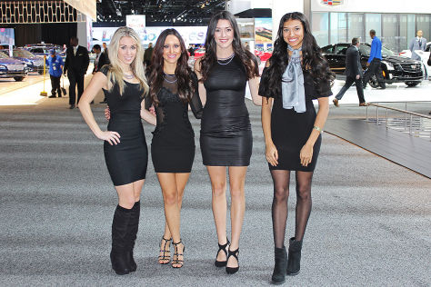 Detroit Auto Show (NAIAS) 2017: Hostessen