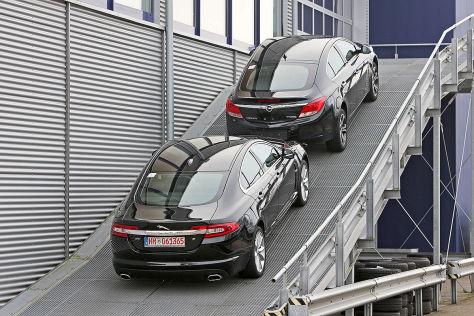 Opel Insignia, Jaguar XF