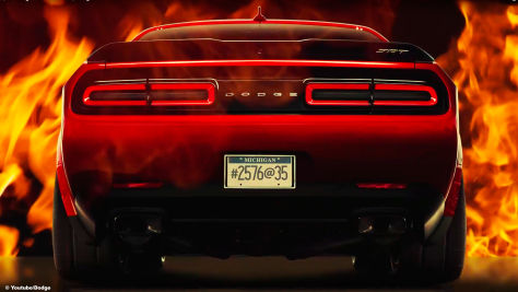 Dodge Challenger SRT Demon (2017): Teaser