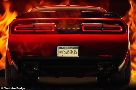 Dodge Challenger SRT Demon (2017): Teaser
