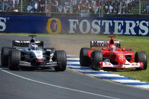 Die Überholkönige der Formel 1
