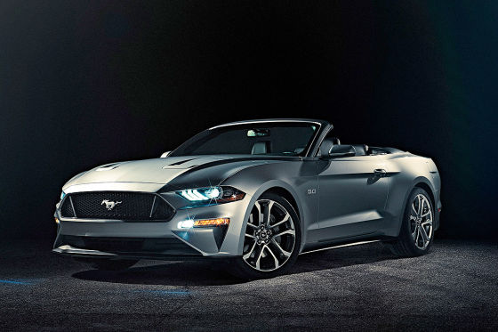 Ford Mustang Gt Convertible 2017 >> Ford Mustang Facelift (2017): Preise und Infos - autobild.de