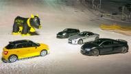 Audi S1/Audi R8/Jaguar F-Type/Nissan GT-R: Test