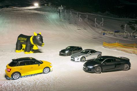 Audi S1 Audi R8 Jaguar F-Type Nissan GT-R