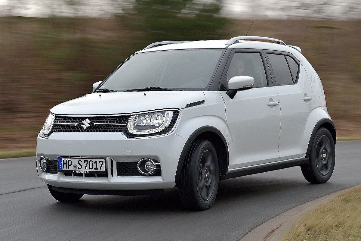 suzuki ignis im test bilder. Black Bedroom Furniture Sets. Home Design Ideas
