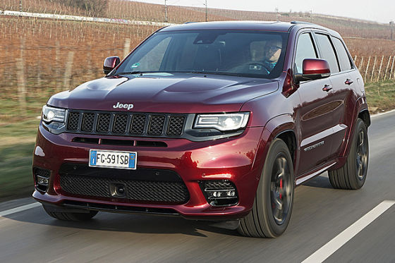 jeep grand cherokee srt facelift 2017 fahrbericht. Black Bedroom Furniture Sets. Home Design Ideas