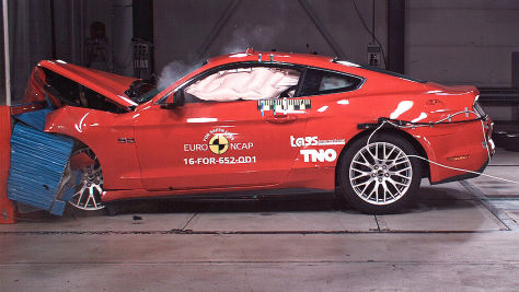Euro NCAP-Crashtest 2017: Ford Mustang, Volvo S90/V90
