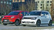 Fiat Panda/Suzuki Ignis: Test