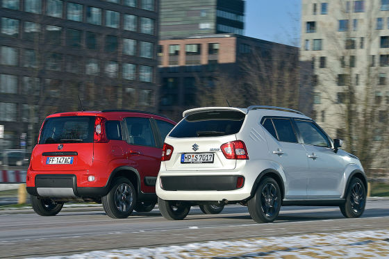 Fiat Panda 4x4 Suzuki Ignis