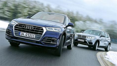 Audi Q5/BMW X3: Test