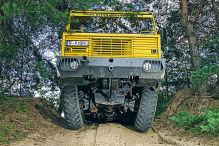 Tatra 813 8x8 Kolos: Fahrbericht