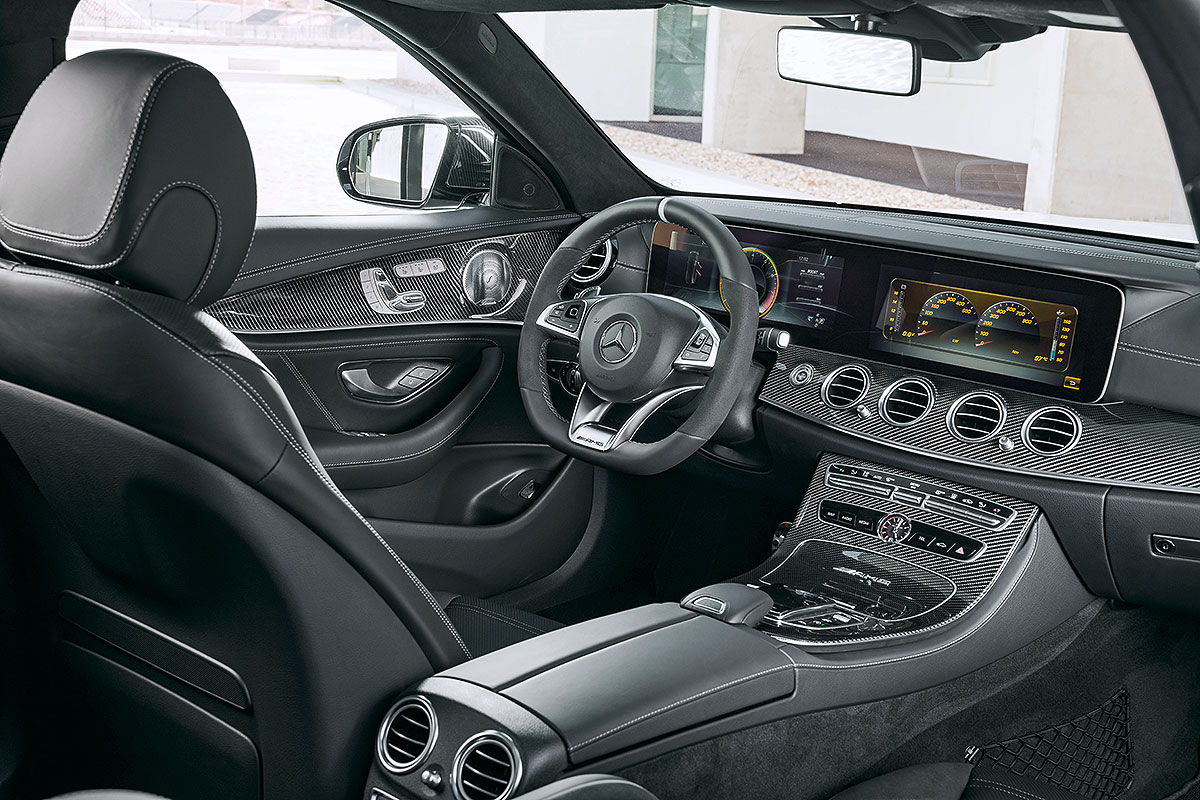 Mercedes amg e 63 s t modell 2017 vorstellung bilder for Mercedes a klasse amg interieur