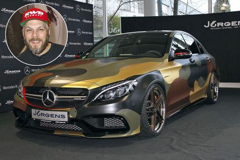 Mercedes-AMG C 63 S (2017): Sidney Hoffmann