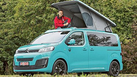 Pössl Campster: Wohnmobil-Test
