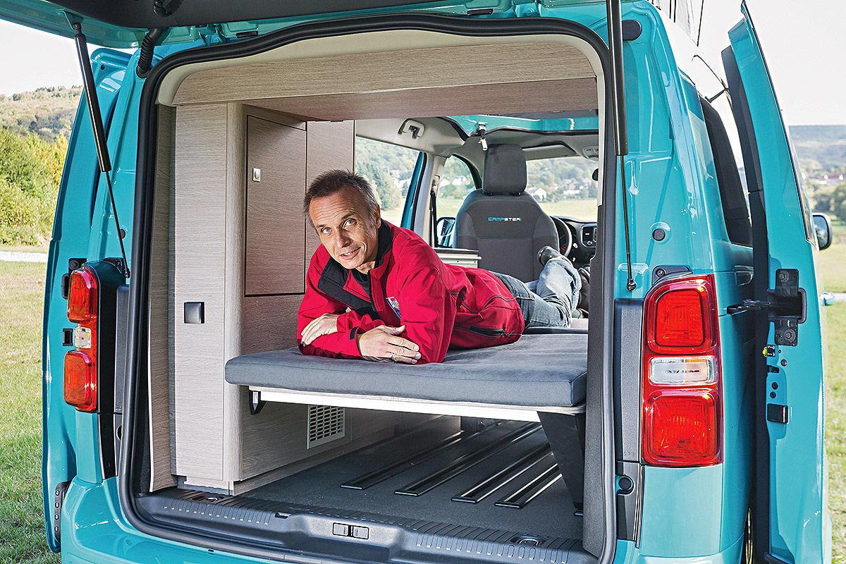 P ssl campster im wohnmobil test bilder for Garage citroen auch