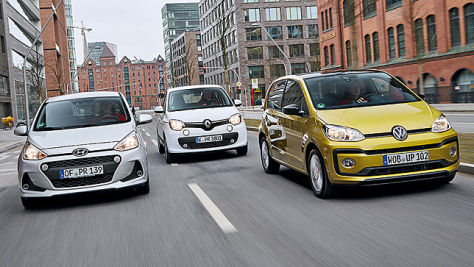 Hyundai i10/Renault Twingo/VW Up: Test