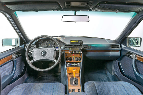 Eine Million Kilometer im Mercedes-Taxi