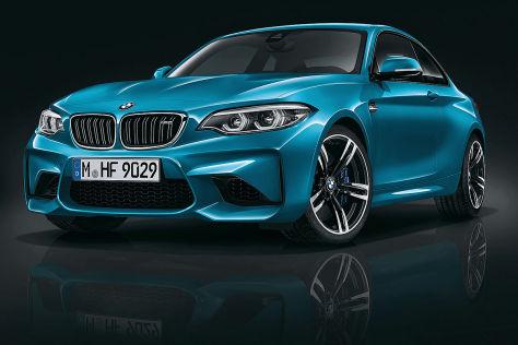 BMW M2 Facelift (2017): Erlkönig