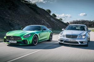 Mercedes-AMG GT R/E 63 AMG: Vergleich