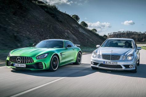 Mercedes-AMG GT R, Mercedes E 63 AMG