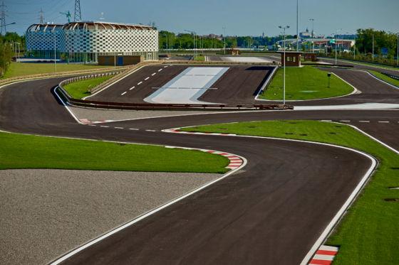 Lainate-Milano Fahrsicherheitszentrum bei ACI Vallelunga