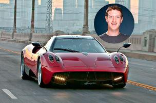 Das fahren Zuckerberg & Co