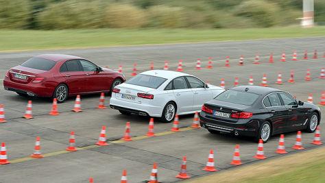 BMW 5er/Mercedes E-Klasse/Audi A6: Test