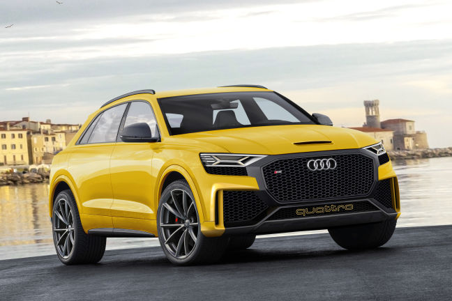video audi q8 sport concept 2017. Black Bedroom Furniture Sets. Home Design Ideas