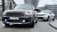 Mini Countryman Cooper S/Nissan Juke Nismo RS: Test