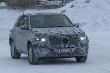 SUV Renovierung bei Mercedes