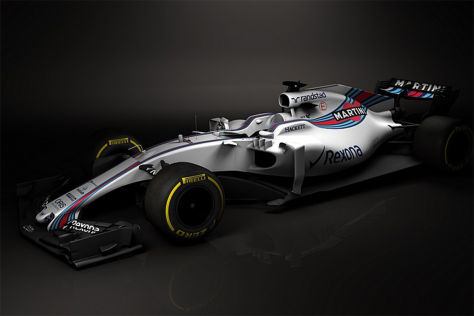 Formel 1: Williams zeigt neues Auto