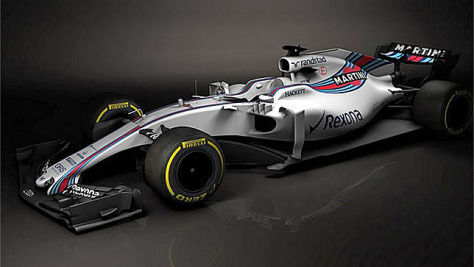 Formel 1: Williams zeigt neues Auto