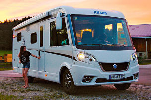 Knaus Van i: Wohnmobil-Dauertest